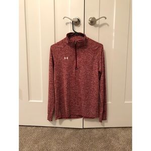Under Armor half zip women's M